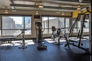 The fitness center and/or fitness facilities at Stay Alfred on 7th Avenue