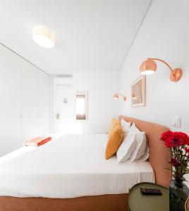 Cama o camas de una habitación en Lisbon Serviced Apartments - Avenida