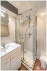 Uma casa de banho em Apartamentos Belo Horizonte