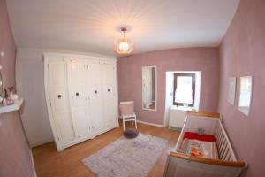 Ein Sitzbereich in der Unterkunft Ferienhaus Mosel Cottage in Piesport