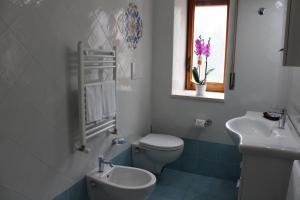 A bathroom at Albergo Residence Pucara