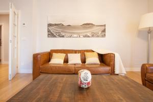 Ein Sitzbereich in der Unterkunft Gerezi - Basque Stay
