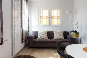 A seating area at Quartprimera Apartments