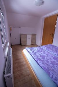 Ein Bett oder Betten in einem Zimmer der Unterkunft Apartment Henrik Zalokar
