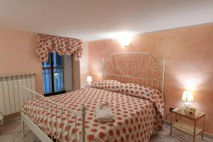 A bed or beds in a room at Salerno Centro