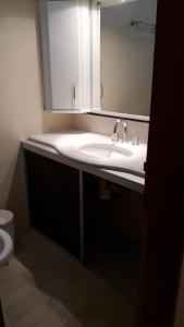 A bathroom at Passeio e Negócios Centro