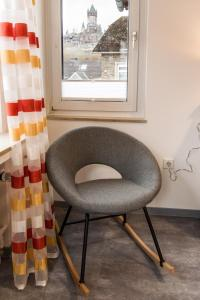 A seating area at Haus Burgfee