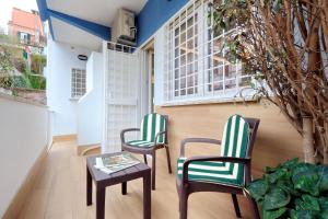 A balcony or terrace at Cozy Domar - My Extra Home