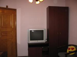 A television and/or entertainment center at Kostyushko Apartment