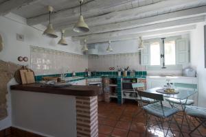 Una cocina o zona de cocina en El Vergel de Chilla