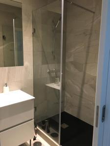 A bathroom at Villa Alba