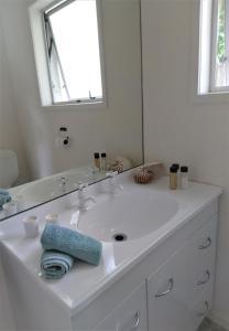 Kúpeľňa v ubytovaní D'Urville House B & B