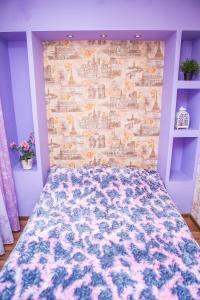 Кровать или кровати в номере бульвар Металлургов 5