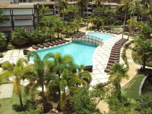 A view of the pool at Xeliter Balcones del Atlantico - Las Terrenas or nearby