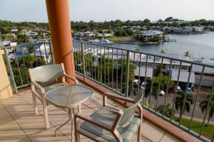 A balcony or terrace at Cullen Bay Resorts