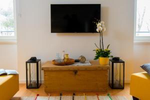 TV/Unterhaltungsangebot in der Unterkunft Casa Bel Olivo