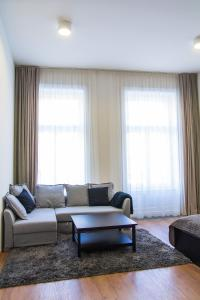 A seating area at Old Town Apartment 2