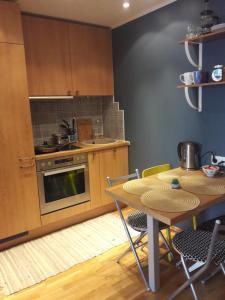 Küche/Küchenzeile in der Unterkunft Apartment in Kalamaja next to Old Town&Center