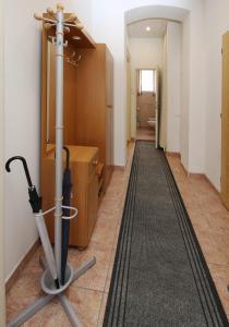 Fitness centrum a/nebo fitness zařízení v ubytování Apartmán Ondřejská