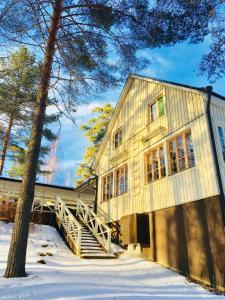 Salonsaaren Lomakylä talvella