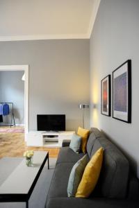 Posezení v ubytování Magnificent Danube Panorama Appartment