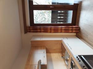 Küche/Küchenzeile in der Unterkunft Ferienwohnungen Kasererbräu