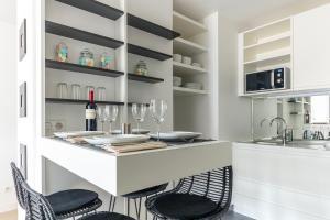 Küche/Küchenzeile in der Unterkunft Résidence Palais Étoile