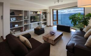 Un lugar para sentarse en Lake View Bariloche