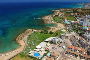 A bird's-eye view of Polyxenia Isaak Luxury Villas and Apartments