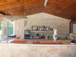 Лаундж или бар в Petsas Apartments