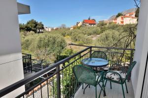 A balcony or terrace at Apartments Valentino