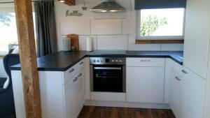 Küche/Küchenzeile in der Unterkunft Chalet Gehlberg