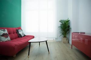 Zona de estar de Mezzanine Green