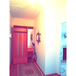 Телевизор и/или развлекательный центр в Best infinity apartment near Asia Park