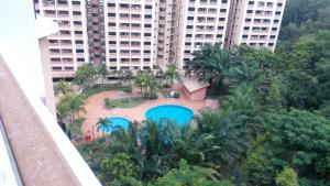 A view of the pool at Putra Villa Short Stay Apartment KL or nearby
