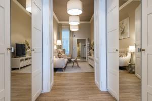 Posedenie v ubytovaní Luxury Apartments Kosice Centre