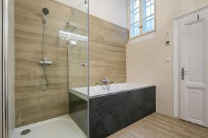 Kúpeľňa v ubytovaní Luxury Apartments Kosice Centre
