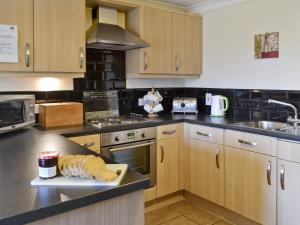 A kitchen or kitchenette at Bevan