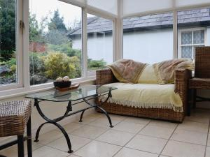 A seating area at Lilac Cottage