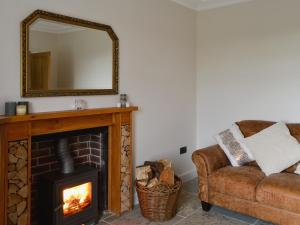 A seating area at Glenlea Cottage