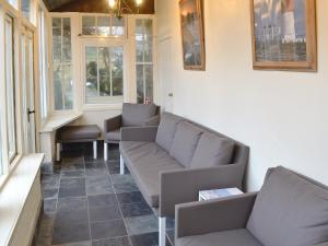 A seating area at Swiss Cottage