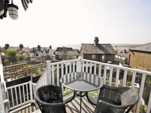 A balcony or terrace at Estuary View