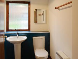 A bathroom at Postie'S Path Cottage