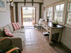 A seating area at Wordsworth Cottage