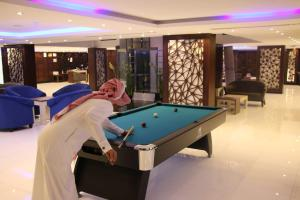A pool table at Al Jowder Suits