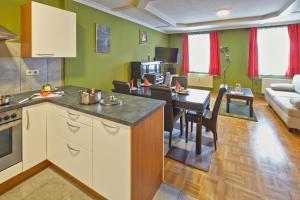 Küche/Küchenzeile in der Unterkunft Apartment Markt Ardagger