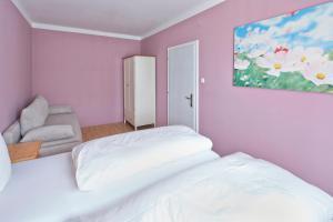 Ein Bett oder Betten in einem Zimmer der Unterkunft Apartment Markt Ardagger