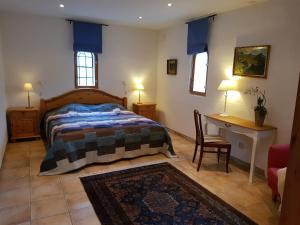 Un ou plusieurs lits dans un hébergement de l'établissement Linda Gård apartment