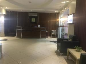 The lobby or reception area at Al Nasriah Al Oula Furnished Units-For Families