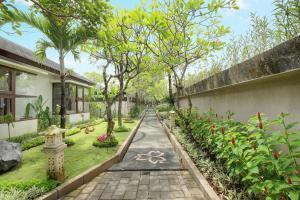 A garden outside Lumbini Luxury Villas and Spa